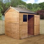 6 x 6 Waltons Reverse Overlap Apex Wooden Shed 2