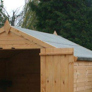 6 x 6 Waltons Shiplap OSB Apex - Windowless Roof