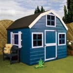 6' x 6' Windsor Dutch Barn Playhouse Blue