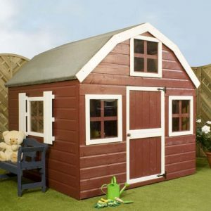 6' x 6' Windsor Dutch Barn Playhouse Painted