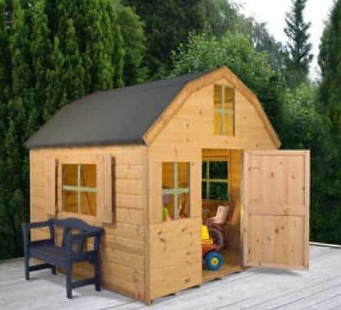 6' x 6' Windsor Dutch Barn Playhouse