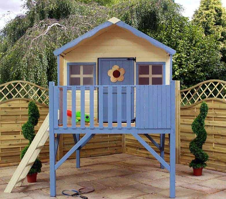 6' x 6' Windsor Honeysuckle Tower Playhouse