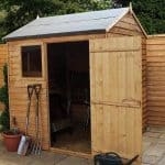 6' x 6' Windsor Overlap Reverse Apex Shed