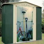 6' x 7' Shed Baron Grandale Six Metal Shed