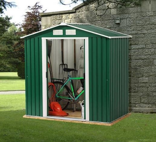 6 x 8 StoreMore Emerald Parkdale Apex Metal Shed