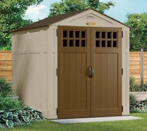 6' x 8' Suncast New Adlington Three Shed