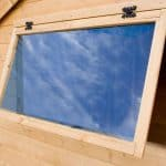6 x 8 Waltons Tongue and Groove Reverse Apex Garden Shed Toughened Glass Window