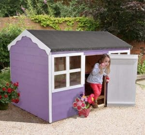 6'1 x 4'3 Play-Plus Blackberry Playhouse Painted