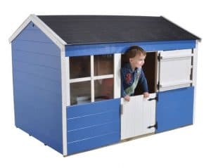 6'1 x 4'3 Play-Plus Gooseberry Playhouse Blue