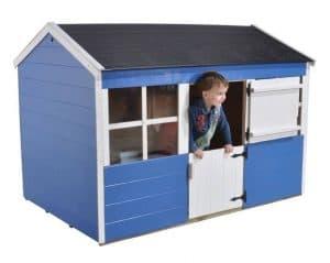 6'1 x 4'3 Play-Plus Gooseberry Playhouse Blue