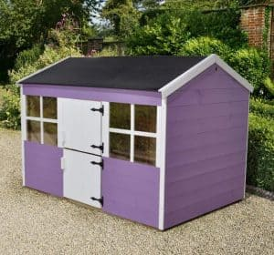6'1 x 4'3 Play-Plus Gooseberry Playhouse Pink