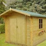 6'10 x 9'10 GardenStyle Angers 1 Log Cabin