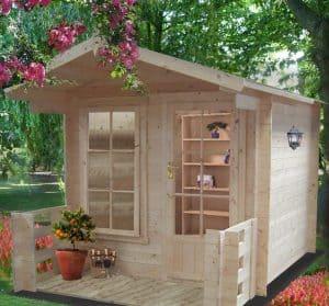 6'10 x 9'8 GardenStyle Maulden Log Cabin