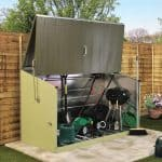6'5 x 2'11 Trimetals Storeguard Metal Garden Storage Unit