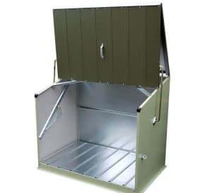 6'5 x 2'3 Trimetals Senator Metal Storage Unit Empty Storage