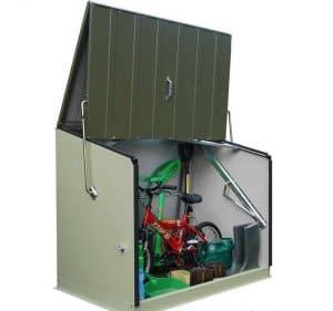 6'5 x 2'3 Trimetals Senator Metal Storage Unit Open Storage
