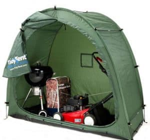 6'7 x 2'7 Shedstore TidyTent Inside View