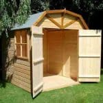 6'9 x 6'6 Shire Barn Double Door Shed