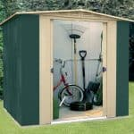 6ft x 7ft StoreMore Canberra Six Apex Metal Shed