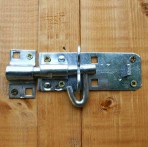 6x4 Waltons Tongue and Groove Pent Wooden Shed Padlockable Door