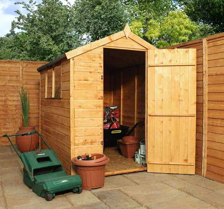 6x4 windsor new norfolk shed overall view