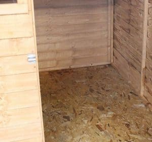 6x6 Windsor Overlap Reverse Apex Shed Flooring and Cladding