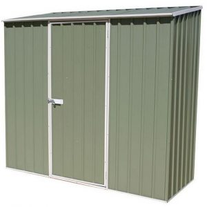 7' 5 x 2' 7 Waltons Pale Eucalyptus Easy Build Pent Metal Shed