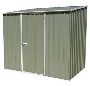 7' 5 x 5' Waltons Pale Eucalyptus Easy Build Pent Metal Shed
