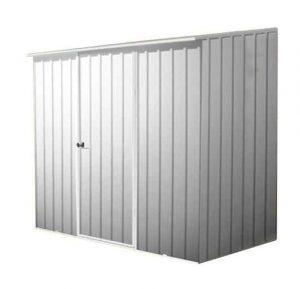7' 5 x 5' Waltons Titanium Easy Build Pent Metal Shed