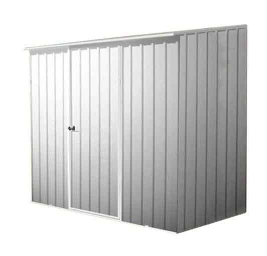 7' 5 x 5' Waltons Titanium Easy Build Pent Metal Shed