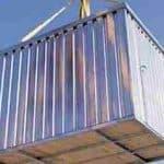 7' x 10' ExpandaStore 3M Galvanised Metal Store