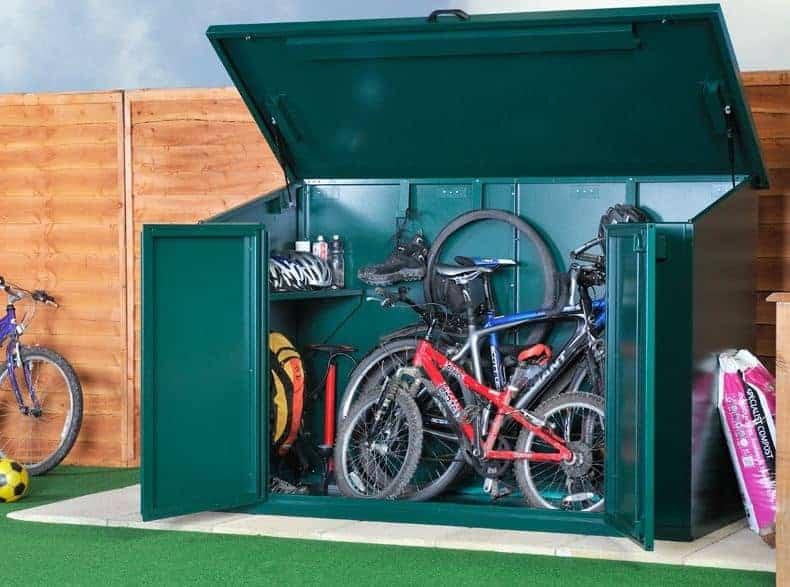 7' x 3' Asgard Access Bike Store