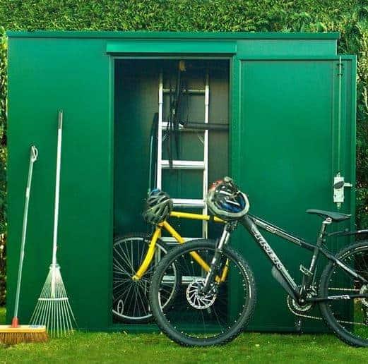 garden sheds 7 x 3 7 x 3 asgard trojan metal storage shed what shed