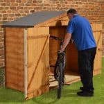 7' x 3' Store-Plus Overlap Bike Shed