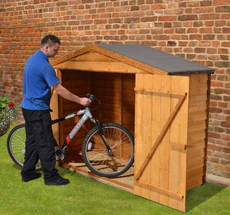 X Store Plus Overlap Bike Shed What Shed