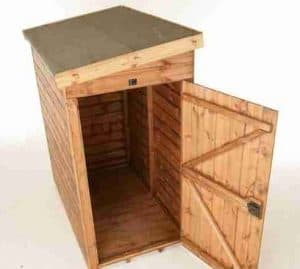 7' x 3' Traditional Pent Tool Store Shed Empty Inside