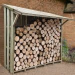 7' x 3' Xtra Large Easy Access Sherwood Log Store