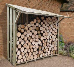 7' x 3' Xtra Large Easy Access Sherwood Log Store