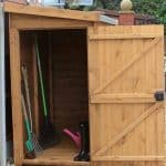 7' x 4' Traditional Pent Tool Store Shed