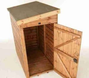 7' x 4' Traditional Pent Tool Store Shed Empty Inside