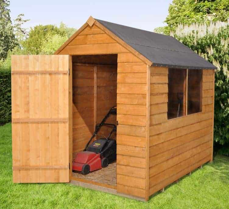 7' x 5' Shed-Plus Classic Overlap Apex Shed