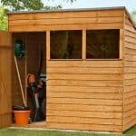 7' x 5' Shed-Plus Overlap Pent Shed