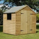 7' x 5' Shed-Plus Pressure Treated Overlap Apex Shed
