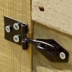 7' x 5' Shed-Plus Pressure Treated Overlap Apex Shed Padlock Feature