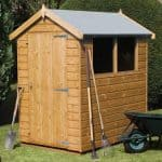 7' x 5' Traditional Standard Apex Shed