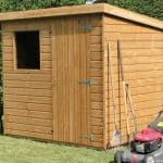 7' x 5' Traditional Standard Pent Shed