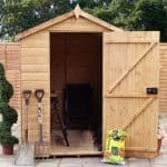 7 x 5 Waltons Groundsman Tongue and Groove Apex Garden Shed front view