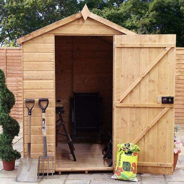 Garden Sheds 7x5 7 x 5 waltons groundsman tongue and groove apex garden shed - what