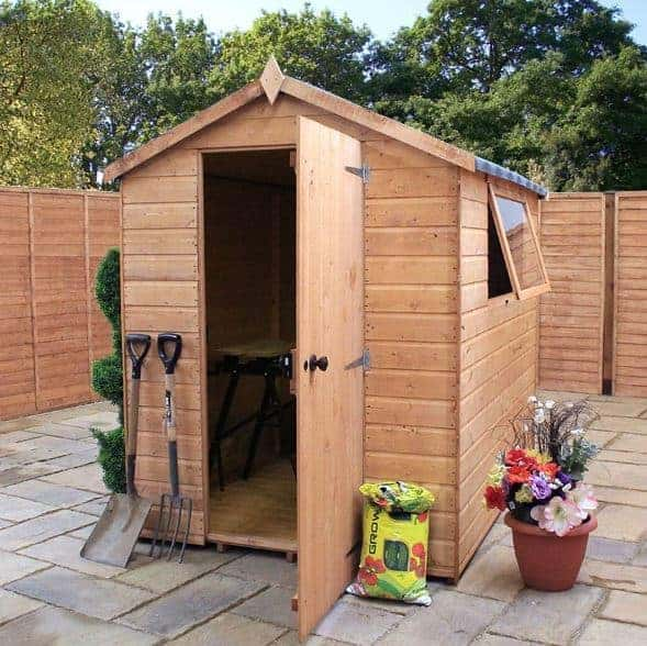 7 x 5 waltons groundsman tongue and groove apex garden shed - Garden Sheds 7x5