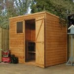7 x 5 Waltons Overlap Pent Wooden Shed